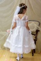 Lace First Communion Dress Style 6833