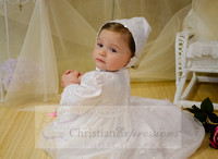Girls Irish Shamrock Christening Gowns and Dresses