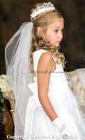 First Communion Dresses & Veils Season 2017 Photo Session 9/10