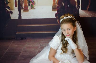 First Communion Dresses   First Communion Veils