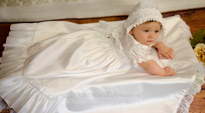 Christening Gowns - Baptism Photographers